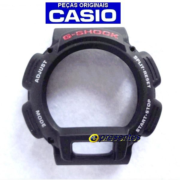 Bezel + Protector Case Back DW-9052 Pecas Originais Casio G-Shock  - E-Presentes