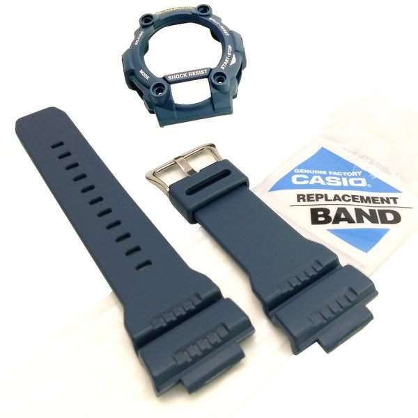 Bezel + Pulseira Casio G-shock Azul G-7900-2 GW7900 - 100% Original  - E-Presentes