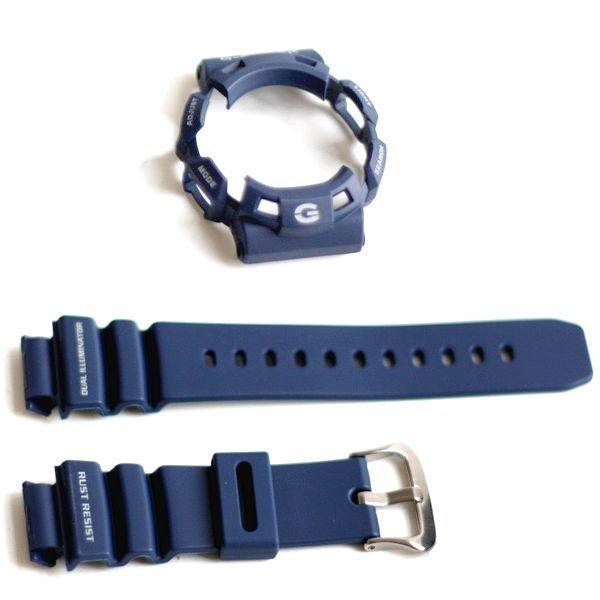 Bezel + Pulseira G-9100-2 Casio G-shock Gulfman Azul  - E-Presentes