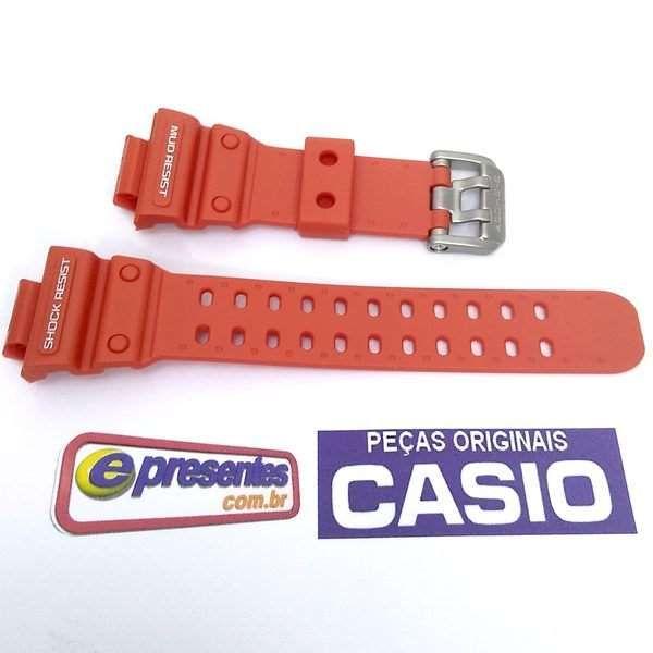 Bezel + Pulseira Casio G-shock Laranja GX-56-4,  GXW-56-4 - 100%original  - E-Presentes