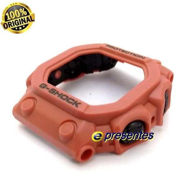 Bezel + Pulseira Casio G-shock Laranja GX-56 GXW-56 100%original  - E-Presentes