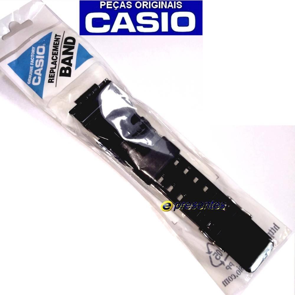 Bezel + Pulseira GD-110-1 Casio G-shock Preto Brilhante  - E-Presentes