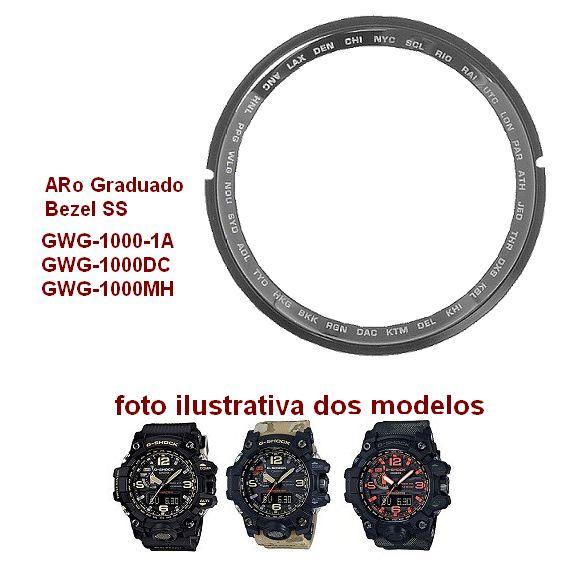 Bezel SS Inner / Aro Graduado Casio G-shock GWG-1000  - E-Presentes