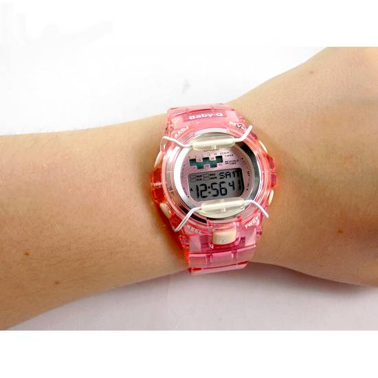 BG-1001-4avdr Relógio Feminino Casio G-shock Baby-G Rosa  - Alexandre Venturini