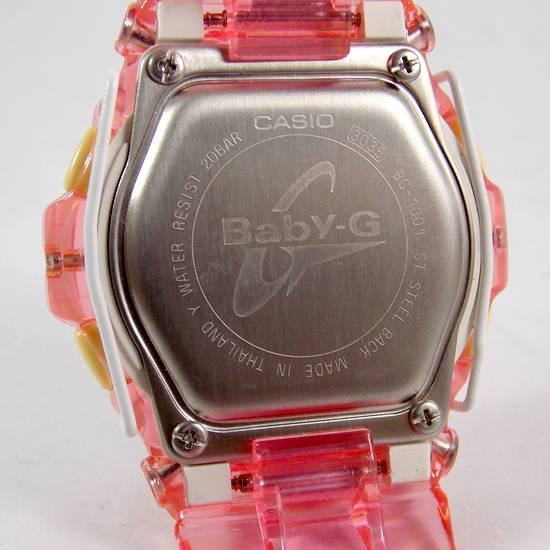 BG-1001-4avdr Relógio Feminino Casio G-shock Baby-G Rosa  - E-Presentes