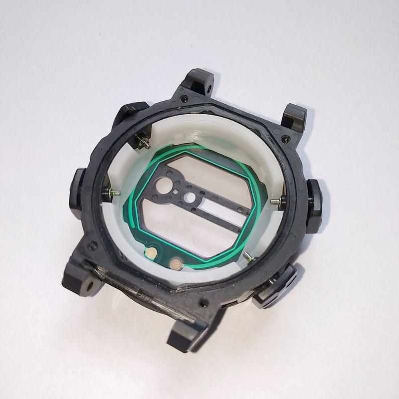 C aixa Frontal Casio G-shock G-9100-1 Gulfman (Case) completo com vidro e botões   - E-Presentes