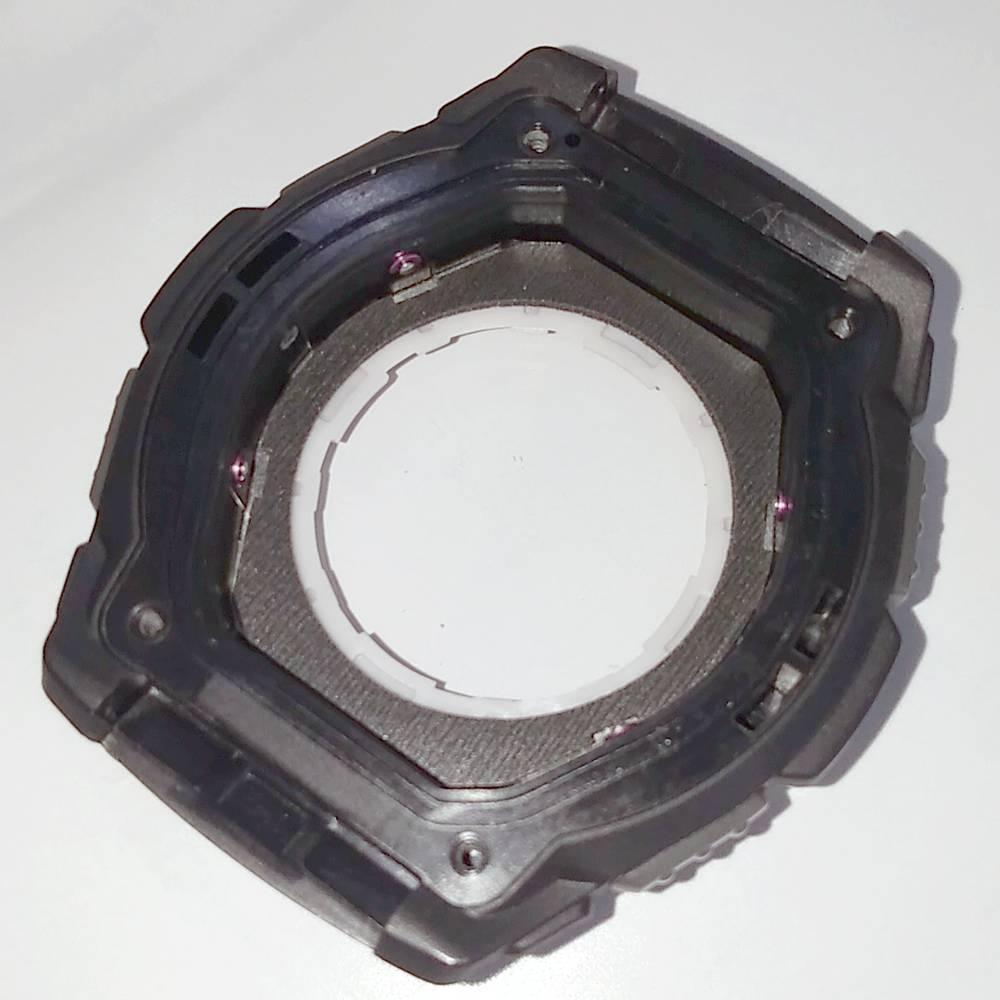 Caixa AQW-101-1AV Parte Frontal Completa  Relogio Casio   - E-Presentes