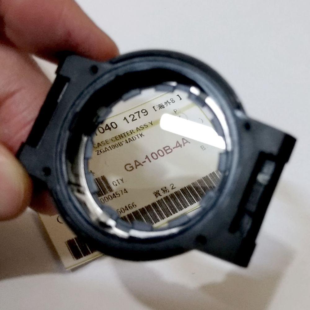 Caixa Case Frontal Casio G-shock GA-100B-4A  - E-Presentes