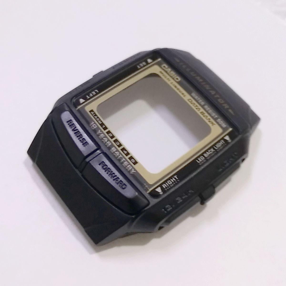 Case Frontal Relogio Casio Db-36-9a  Serie Ouro Peça Original  - E-Presentes