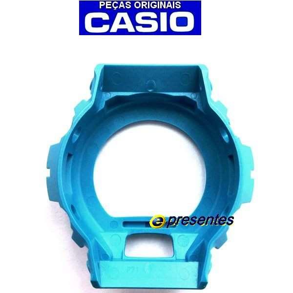 Capa Bezel AZUL G-shock DW-6900CB-2 -  Peça 100% Original  - E-Presentes