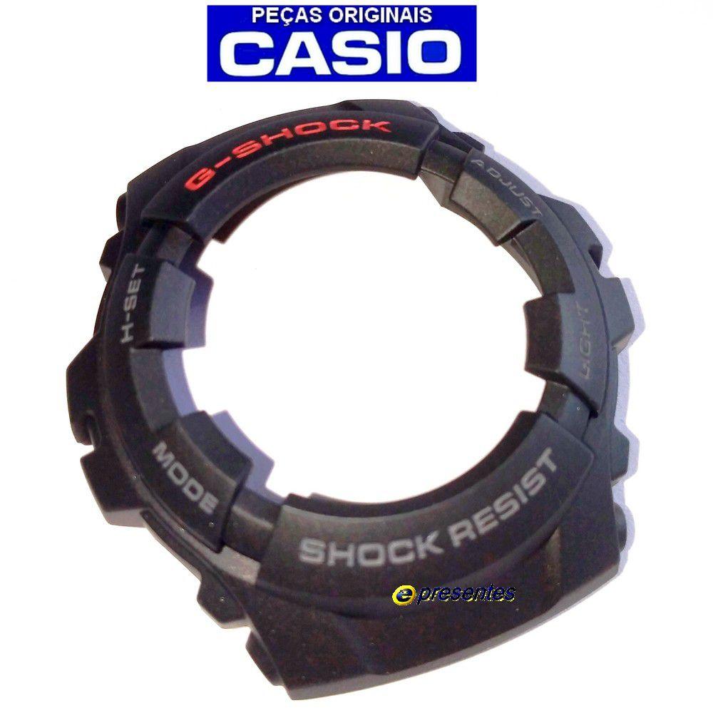 Capa Bezel Casio G-shock G-101-1av Preto - 100% Original  - E-Presentes