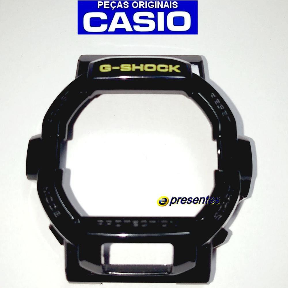 Capa Bezel G-shock GD-350BR-1 Preto Brilhante Verniz *  Peça 100%original  - E-Presentes