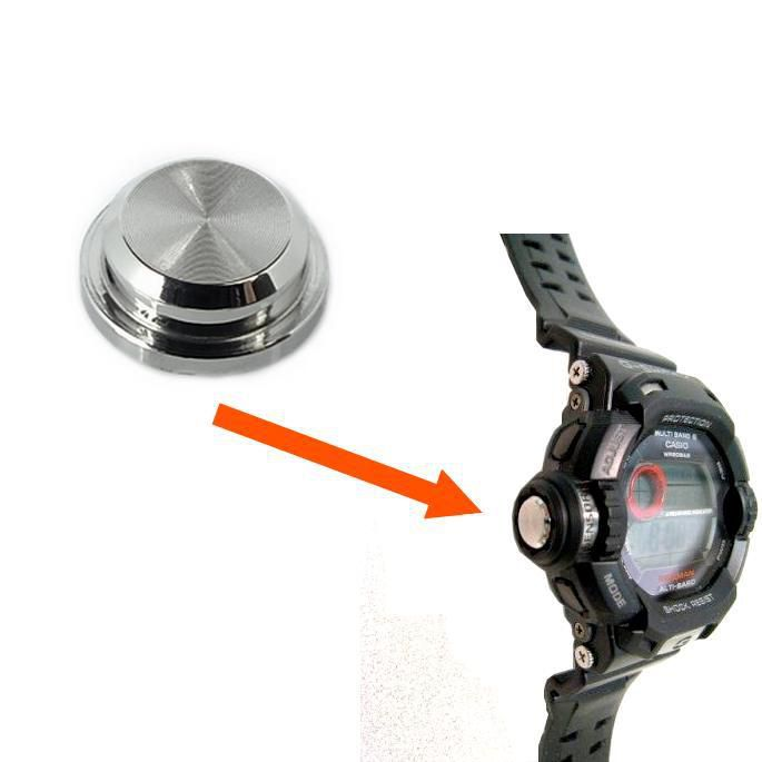 Capa Cromada do Sensor G-9200, GW-9200 Casio G-Shock Riseman  - E-Presentes