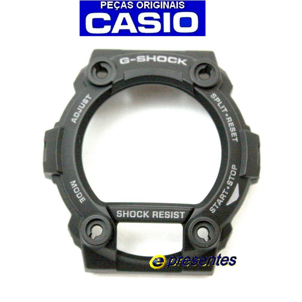 Capa Protetora Bezel Casio G-shock Preto Militar GW-7900BMS-1 / G-7900MS-1A 100%original  - E-Presentes