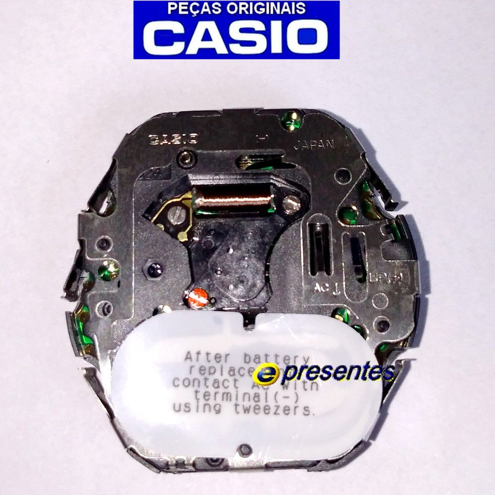 Circuito Interno Casio Aqf-102w-7  Dysplay Positivo Modulo 4738  - E-Presentes