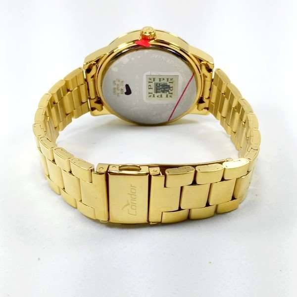 Co2035kop/4d Relógio Feminino Condor Dourado 42mm largura  - Alexandre Venturini