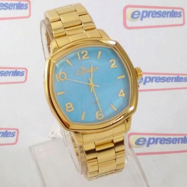 Co2035KrK/4A Relógio Condor Dourado Feminino 37mm Madrepérola  - E-Presentes