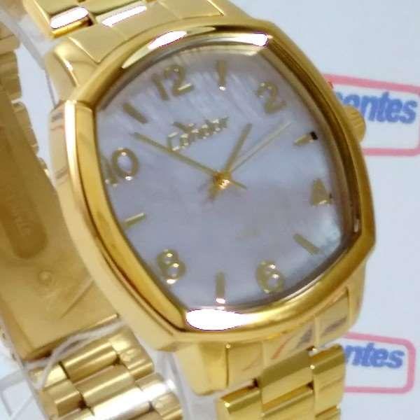 Co2035KrK/4x Relógio Condor Dourado Feminino 37mm Madrepérola  - E-Presentes