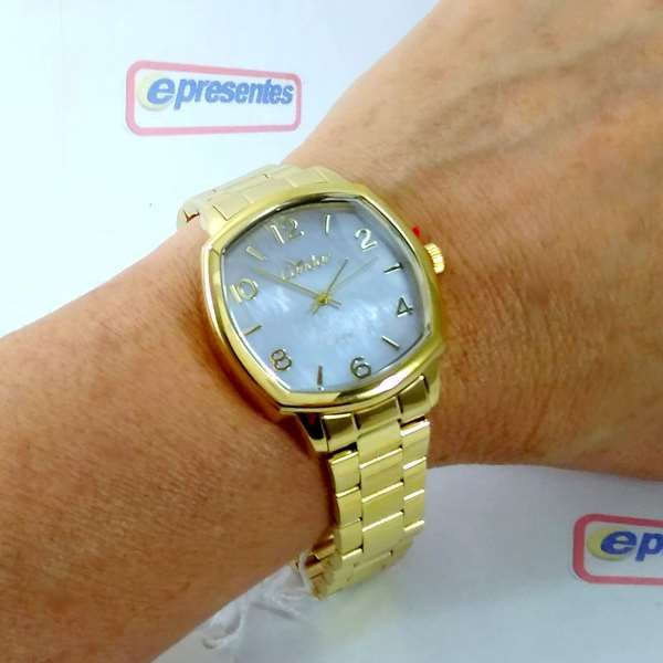 Co2035KrK/4x Relógio Condor Dourado Feminino 37mm Madrepérola  - Alexandre Venturini