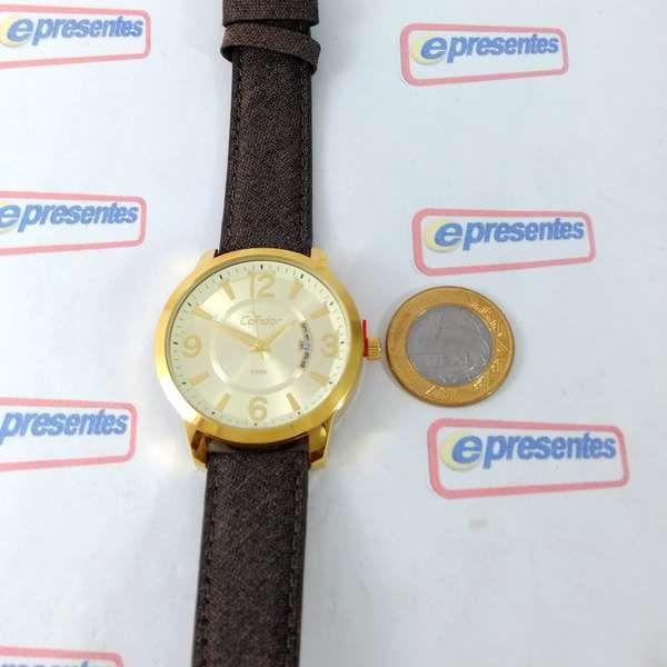 Co2115xw/k4d Relógio Feminino Condor Dourado 42mm largura 2 pulseiras  - Alexandre Venturini