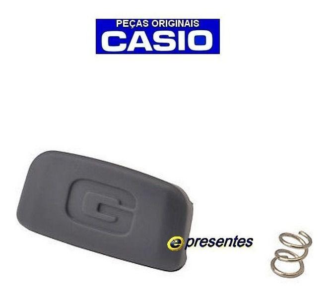 Pulseira + Bezel + Botão Frontal Iluminação Dw-6900-1v, DW-6600 Casio G-Shock  - E-Presentes