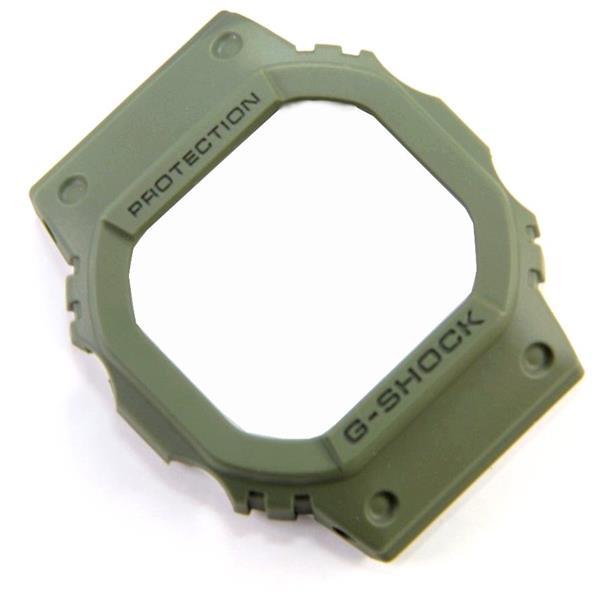 KIT BEZEL + Pulseira Original Casio G-shock DW-5600m-3 Verde Militar  - E-Presentes