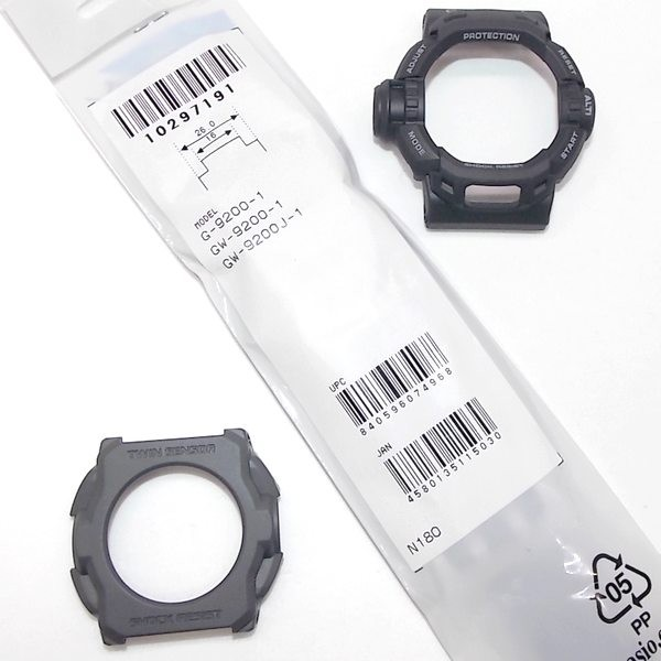 Cover botton + Bezel + Pulseira G-shock Riseman G-9200 Gw-9200 - 100% Original  - Alexandre Venturini