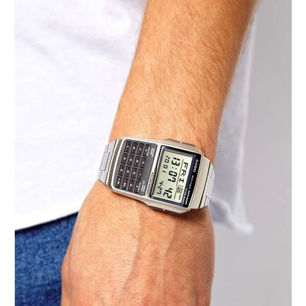 Dbc-32d-1adf Relógio Casio Databank Calculadora 25 Memorias   - E-Presentes