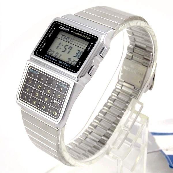 e234e8bd80a DBC-611-1DF Relógio Casio Databank Calculadora Retrô Vintage - E-Presentes  ...