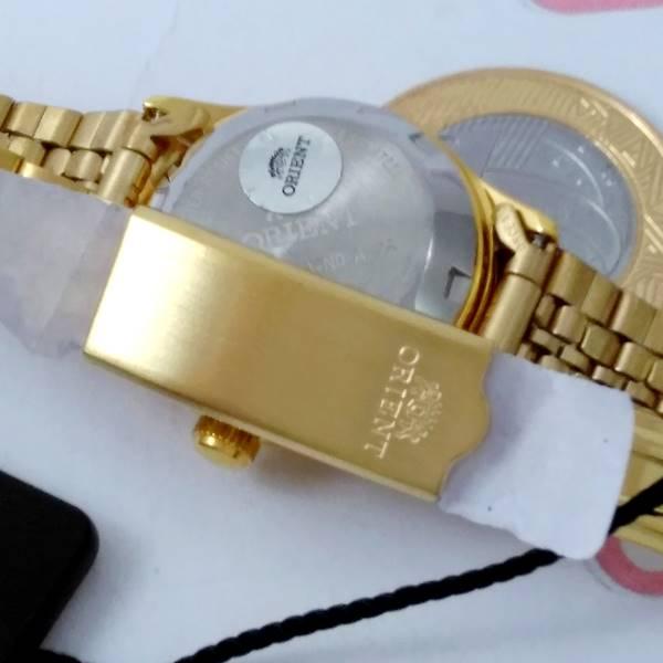FNQ0400FC9 Relógio Feminino Orient Mini Automatico Dourado 25MM  - Alexandre Venturini