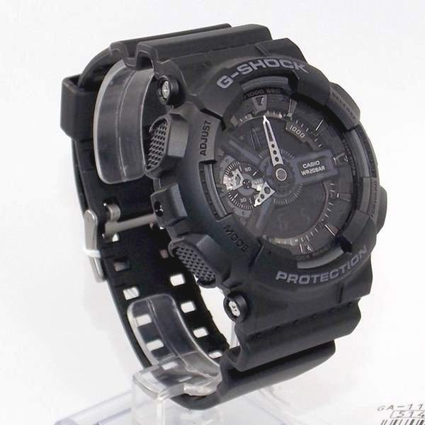 Ga-110-1bdr Relógio Casio G-shock Analógico Digital Original  - E-Presentes