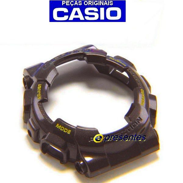 GA-110br-5a Bezel Casio G-shock Marrom 100% original   - E-Presentes