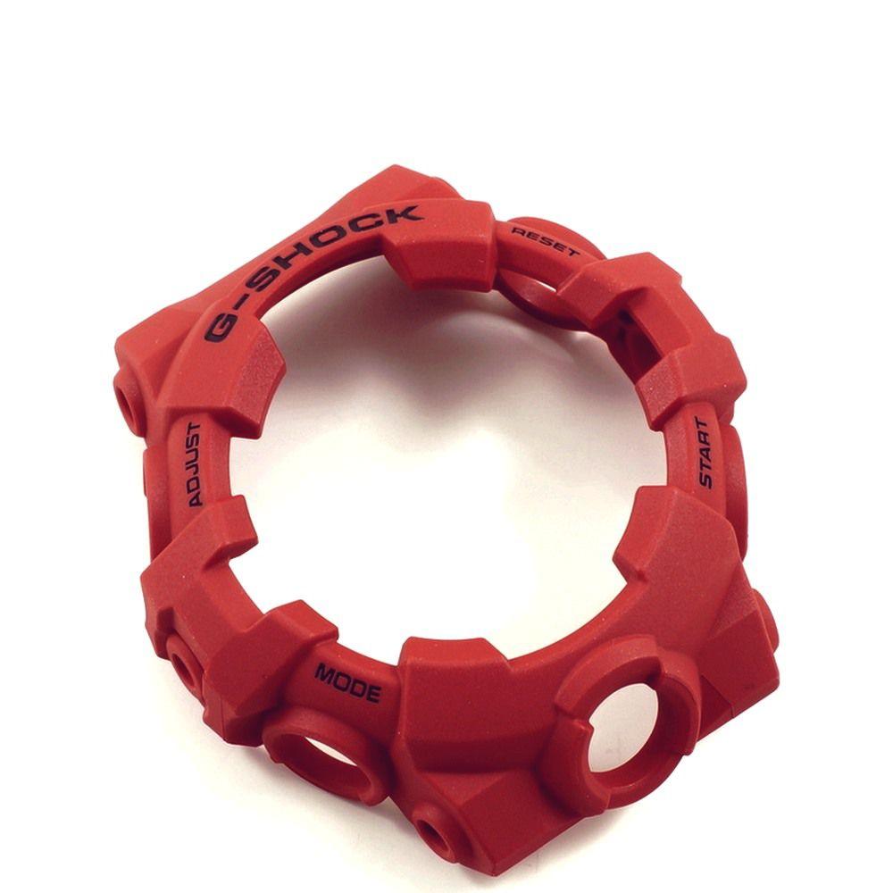 GA-700-4a  Bezel Casio G-shock Resina Vermelha - 100% original   - E-Presentes