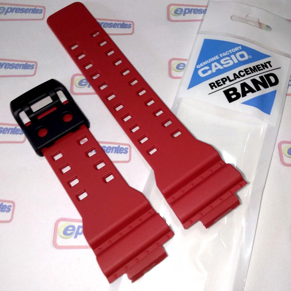 GA-700-4a Pulseira Casio G-shock Resina Vermelha - 100% original   - E-Presentes