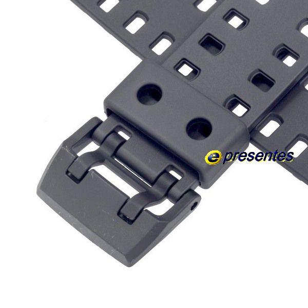 Pulseira Casio G-shock GA-700-1A , GA-700-1B, GA-700DC-1A Resina Preta - 100% original *  - E-Presentes