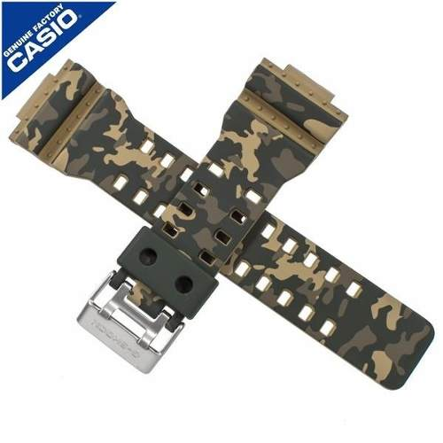 GD-120CM GA-100CM KIT ORIGINAL Bezel + Pulseira Casio G-Shock Camuflado - E-Presentes