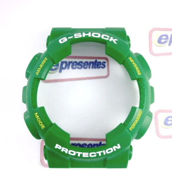 GD-120TS-3 Bezel Verde Folha Fosco Casio -G-Shock 100% Original  - E-Presentes
