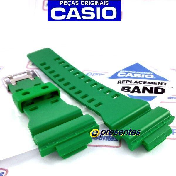 GD-120TS-3 Pulseira Casio G-Shock Verde Folha Fosco - 100% Original  - E-Presentes
