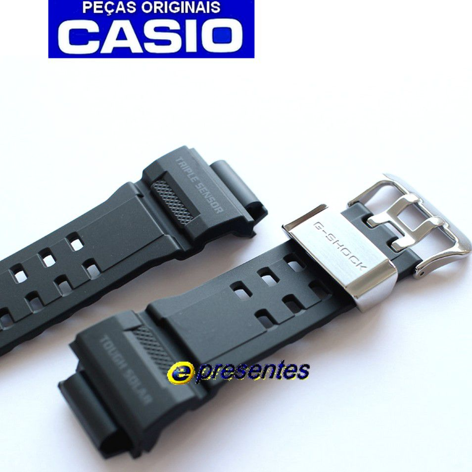 GW-9400-1 Pulseira Preto Fosco Casio G-Shock Rangeman *  - E-Presentes