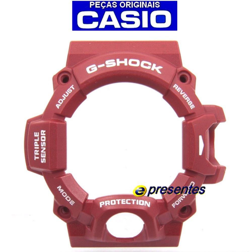 GW-9400RD-4 Bezel Vermelho Casio G-Shock Rangeman  - E-Presentes