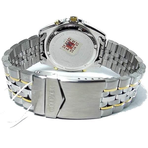 JQ8004-59E Relógio Masculino Citizen Wingman VI Cronógrafo 2 Alarmes   - Alexandre Venturini