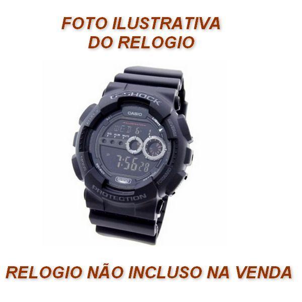 Kit 100% Original  Gd-100-1B Pulseira + bezel  Casio G-shock   - E-Presentes
