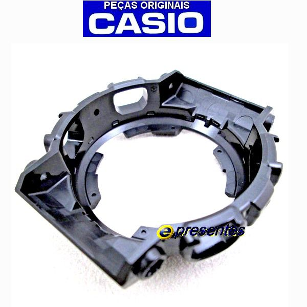 Kit Bezel +  Pulseira Brilhante Fivela Dourada GA-110GB-1A - Casio G-shock  - E-Presentes