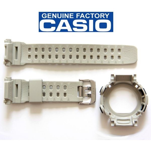 Kit Bezel +Pulseira Casio G-shock Mudman G-9000 Cinza 100% Original  - E-Presentes