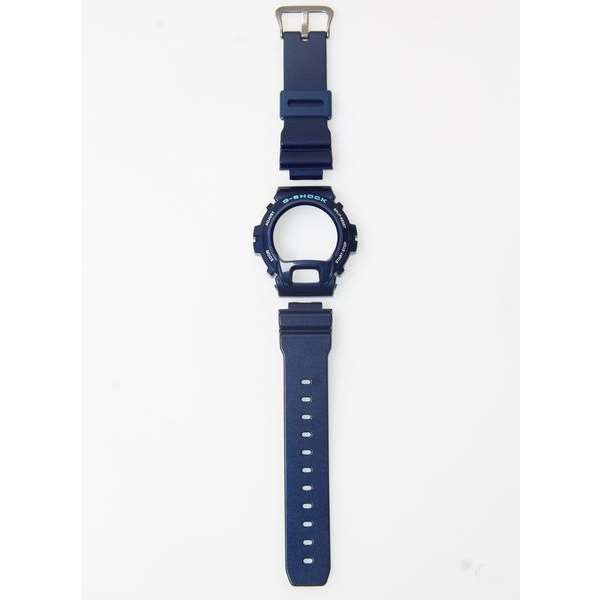 Kit DW-6900cc-2 100% Original Pulseira + Bezel Azul Casio G-Shock  - E-Presentes