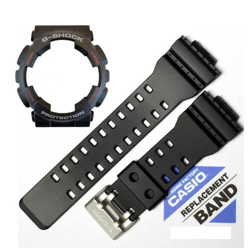 """Kit Pulseira + bezel Capa Casio G-shock Ga-120-1a  """"Original""""  - E-Presentes"""