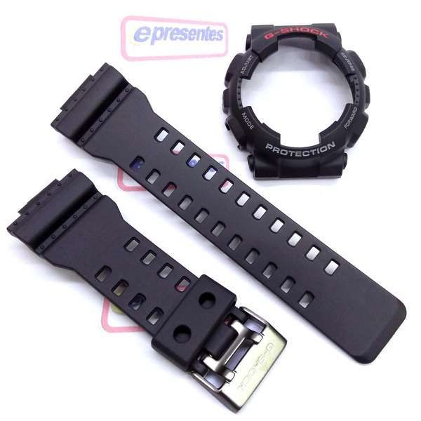96757b95a31 Kit Pulseira+bezel Capa Casio G-shock Gd-100 Ga-110 Original - E-Presentes