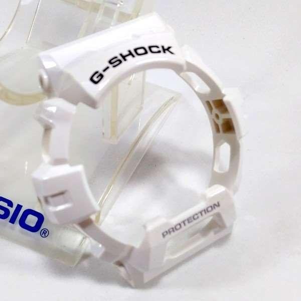 Kit Pulseira + bezel Casio G-shock Branco Brilhante GR-8900A  - Alexandre Venturini