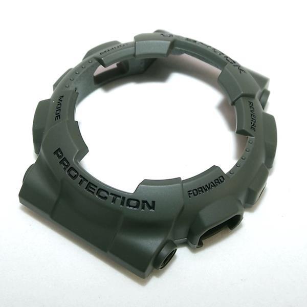 Kit Pulseira + Bezel GD-100ms-3 Casio G-shock Verde Peças Originais  - Alexandre Venturini