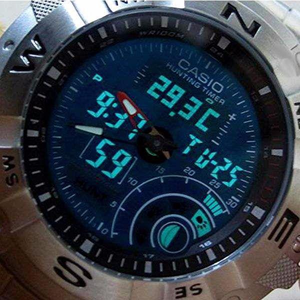 Maquina Do Relógio Casio AMW-705 - Peça Original  - E-Presentes